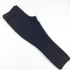 J Crew The Gigi Pant Size 8 Black Ponte